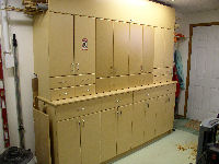 tool cabinet -- exterior view