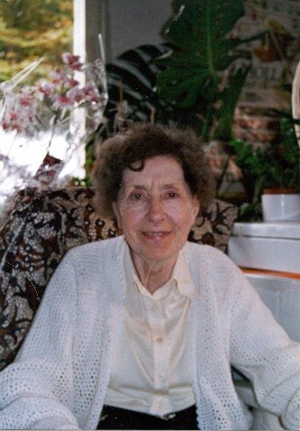 Picture of Pieter's mom 26-Sep-2001